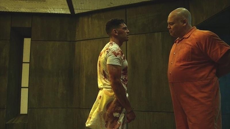 The Punisher Wilson Fisk - Fight Scene (In the Prison)   Daredevil 2x09   2016 (HD)