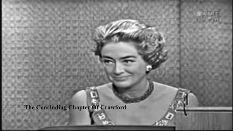 Joan Crawford On What's My Line? 1962 | FULL | (HD)