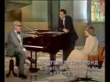 Народный артист СССР Никита Богословский в передаче О музыке от А до Я (БТ, 1984 год)