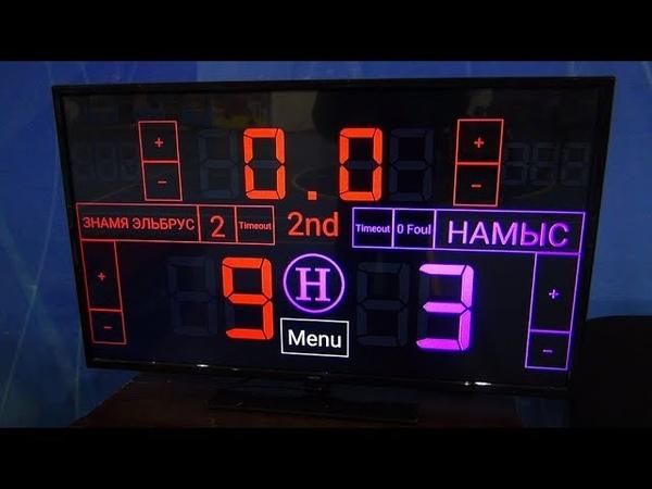 Чемпионат КБР по мини-футболу 201819. ПД. 1 тур. Знамя Эльбруса - Намыс. 2 тайм