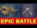 Mammoth vs Tripod 40 vs 40 Epic Battle