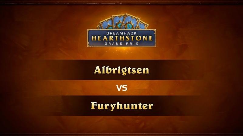 Albrigtsen vs Furyhunter, 1/4, DreamHack Summer 2018