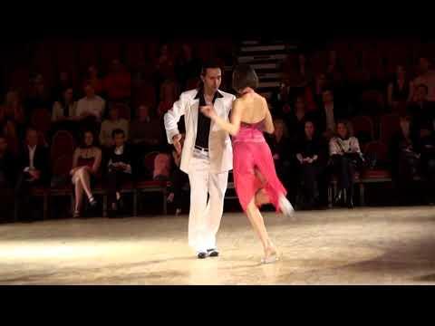 Густаво Росас и Гизела Натоли - Аргентинское Танго - Milonga Reliques Porteñas - Фестиваль. 2011 г.