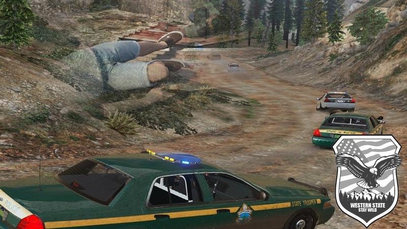 GTA 5 RP | WSRP.RU | Francis Caddy being shot 1