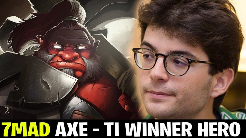 This Axe by 7Mad Helped OG win TI8
