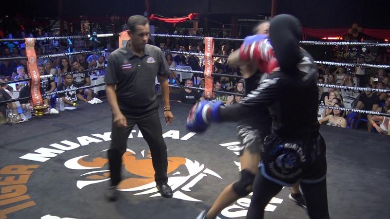BBQ Beatdown 122 Wei Ying (China) vs Tina (Australia)