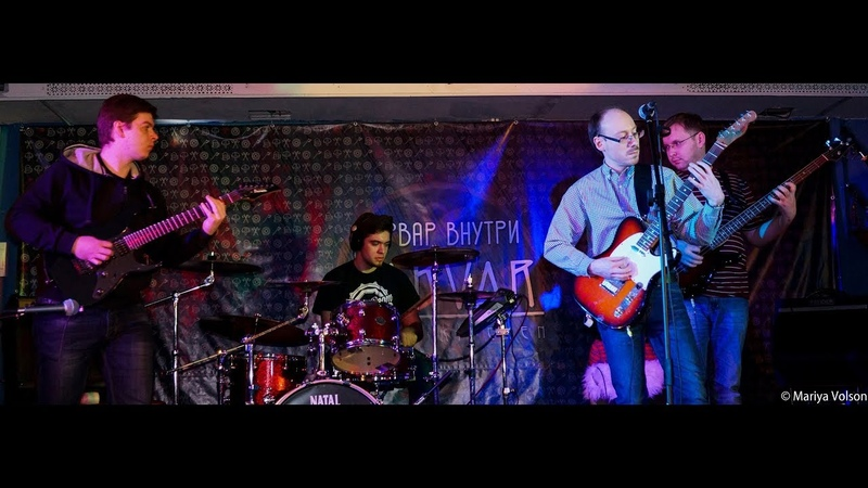 ROCKWAY BLUES BAND Life is Strange Jam With My Student 25 02 2018 Live
