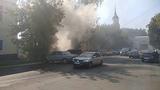 В центре Калуги сгорела
