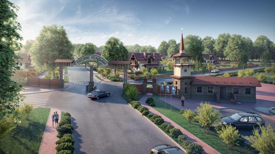 Строительство резиденций для людей