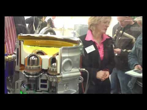 Whispergen - Stirling-Motor als Blockheizkraftwerk