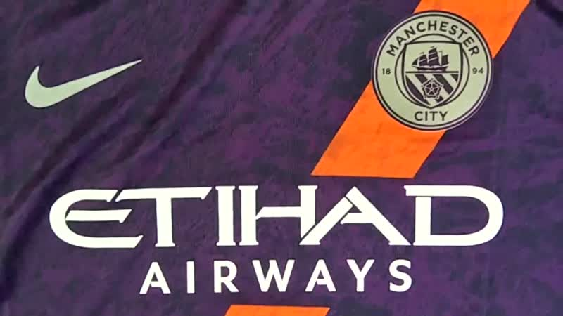 Манчестер Сити. Обзор фанатской версии резервной футболки.