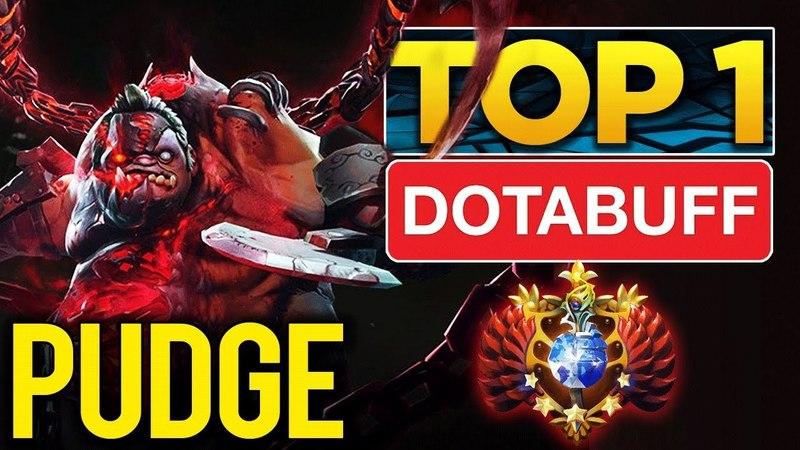 SexyBamboe Pudge TOP 1 Dotabuff Arcana Set, Amazing Hooks - Dota 2