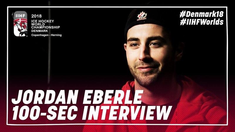 100 Seconds of Questions: Jordan Eberle | IIHFWorlds 2018
