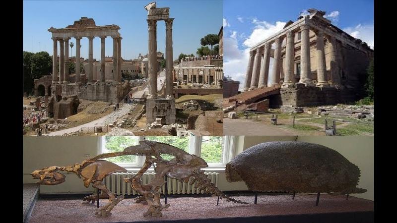 Античные храмы - скелеты и панцири разумных существ. Наследие кремниевой жизни.часть 1