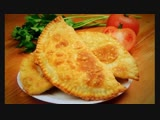 Хрустящие чебуреки (рецепт под видео) [hecnzobt xt,ehtrb (htwtgn gjl dbltj)