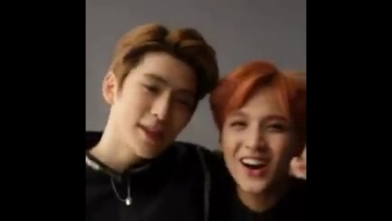 Let's remember the moment Donghyuck's hair decided to stick on Jaehyun's hair and it was the most cute thing ever