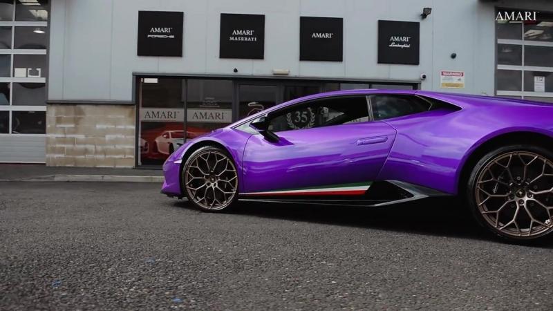 Lamborghini Huracan Performante Start Up and Rev