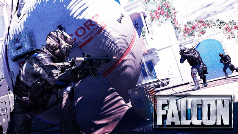 Фалькон против Русский воин