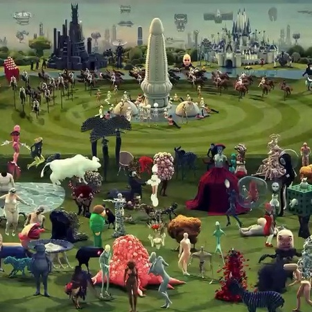 "4:3 on Instagram: ""A modern interpretation of Hieronymus Bosch's The Garden of Earthly Delights. Animated by Studio Smack."""