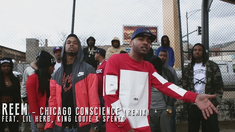 Reem f Lil Herb, King Louie Spenzo - Chicago Conscious (Remix)