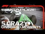 5 Crazy Onboards   Singapore Grand Prix