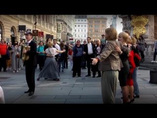 Майский вальс. Музыкальный флешмоб в центре Вены