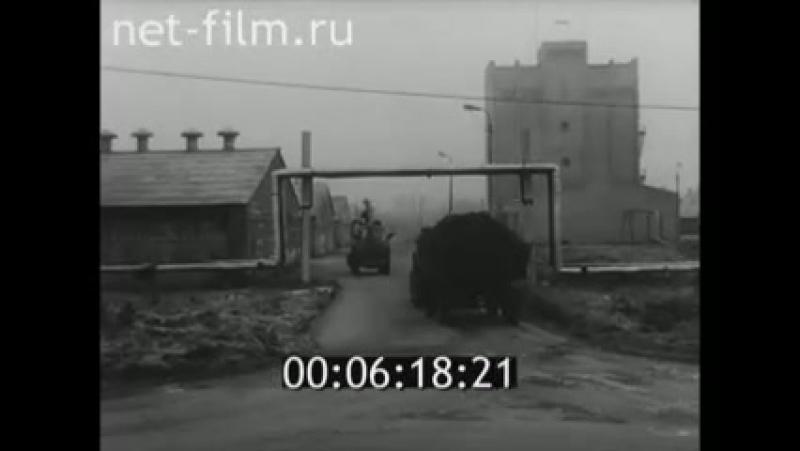 Комплекс Пашский, 1980 год. Сюжет из Ленинградской кинохроники.