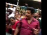 Birthday celebration at Saamy Square shooting spot Chiyaan Vikram - 2