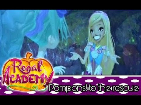 Regal Academy / Pompoms! to the rescue