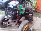 Мини-трактор с двигателем magnum 13 л.с.