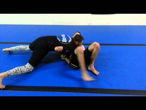 Brandon Quick Russian Tie to Kimura