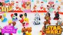 Киндер Сюрприз НОВИНКА 2018 ЗВЕЗДНЫЕ ВОЙНЫ и ПРИНЦЕССЫ ДИСНЕЯ Kinder Surprise MrGeor игрушки