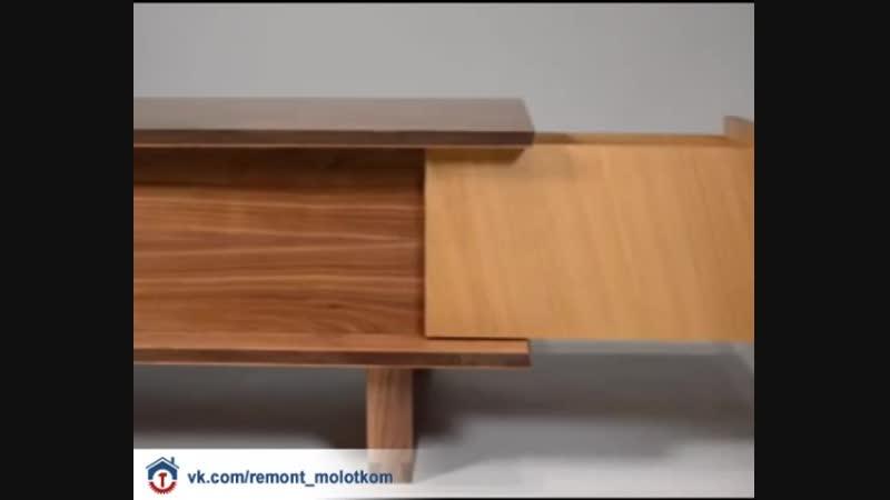 Интересный стол с ящиками 😊🤞🏻