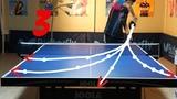 Best Table Tennis Serves Tutorial. (Pt 3 fastest, backhand, pendulum) --- TOMORROW TABLE TENNIS