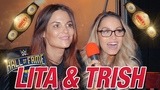 #My1 Trish Stratus and Lita on Retirement, Main Event, and Gimmick Matches Top 5 Team Bestie Moments