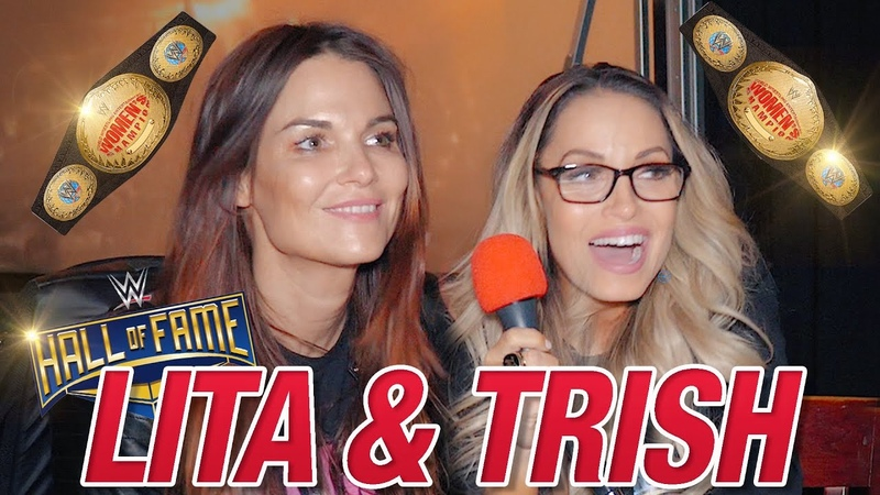 [My1] Trish Stratus and Lita on Retirement, Main Event, and Gimmick Matches | Top 5 Team Bestie Moments