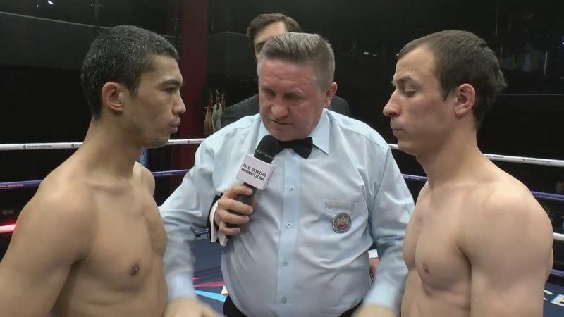 Зафар Парпиев vs. Рафаил Мухутдинов | Турнир по боксу RCC Boxing Promotions