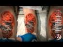 череп и розы (BRONSON ART)