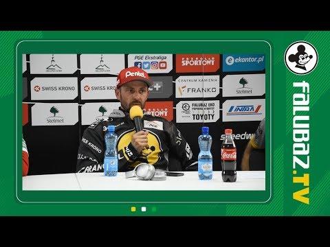 Konferencja prasowa po meczu Falubaz - Betard Sparta, 17.06.2018
