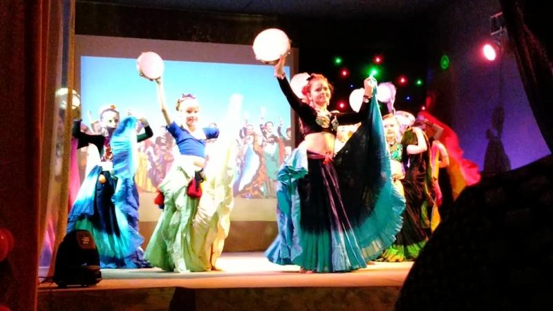 Танцевальная Атмосфера DANCE WORLD г. Мурманск_Детская группа Tribal шоу » Freewka.com - Смотреть онлайн в хорощем качестве