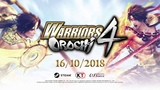 WARRIORS OROCHI 4 - New Character Highlight Trailer HOT (Game PC)