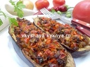 Имам-баялды по-турецки: запекаем лодочки из баклажан с овощами