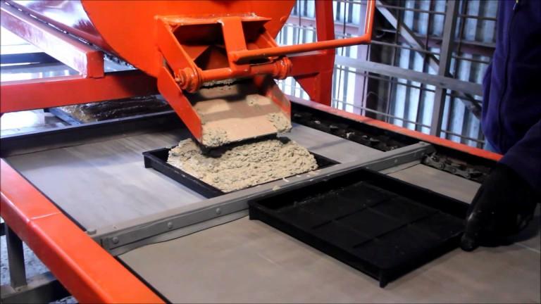 Брусчатка - метод производства