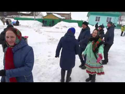 Марийский танец Магашлы Алмантаево УЯРНЯ Видео Хайбуллина Василия