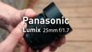 Panasonic Lumix 25mm f/1.7 Aidin Robbins rus