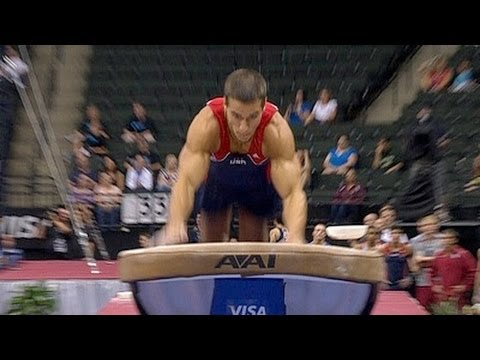 Jacob Dalton scores highest on Vault at Nationals - from Universal Sports