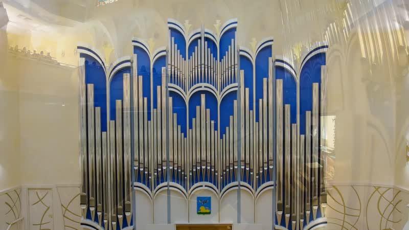 549 J. S. Bach - Prelude and Fugue in C minor, BWV 549 - Timur Khaliullin, organ