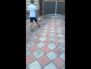 Футбол с младшим братом😜