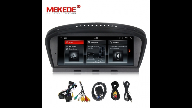 8 8 дюйма HD экран для BMW 5 серии E60 E90 CIC CCC система стерео аудио видео плеер GPS навигации мультимедиа без CD DVD