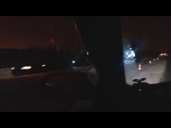 Последствия ДТП на объездной Ротонда - Чичерина